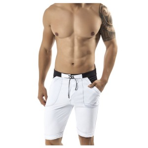 Guarulhos Swimsuit Long Trunk White