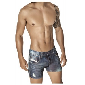 Denim Jean Boxer Blue