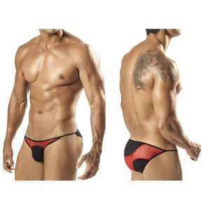 1556 Billano Bikini Brief Red Black