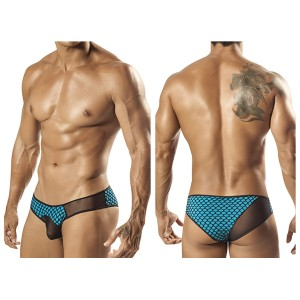 1568 Carson Sheer Brief Turquoise