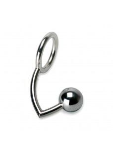 Stainless Steel Cock Ring Prostate Stimulator