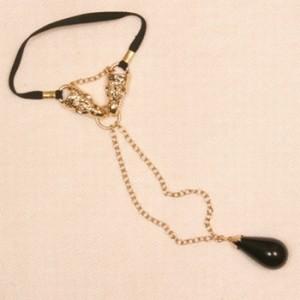 Eagle Bracelet with Penis Ring Chain & Drop Pendant