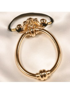 Door Knocker Penis Ring - Silver or Gold