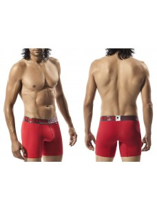 Xtremen Microfiber Boxer Brief Red