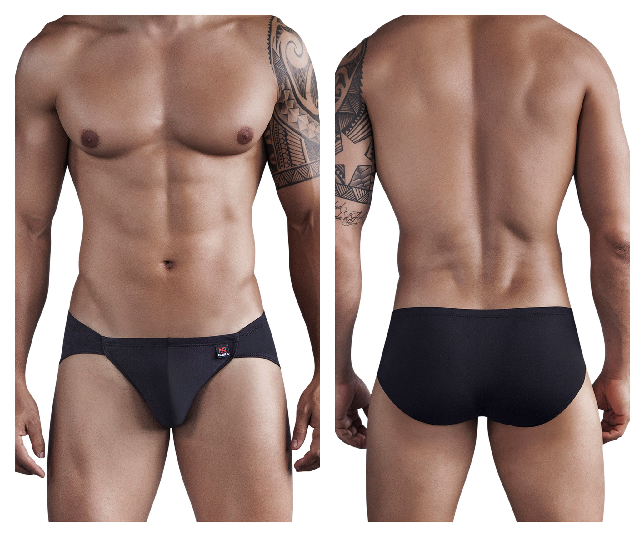 Boriqua Dance Matrix Brief Black