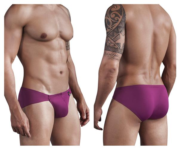Boriqua Dance Matrix Brief Grape