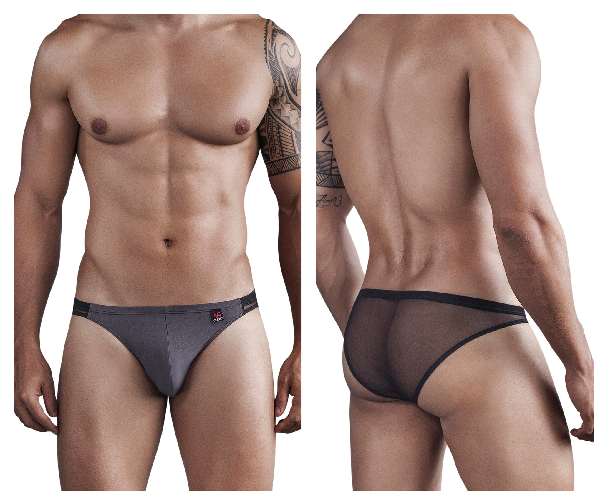 Tribe Bikini Brief Black