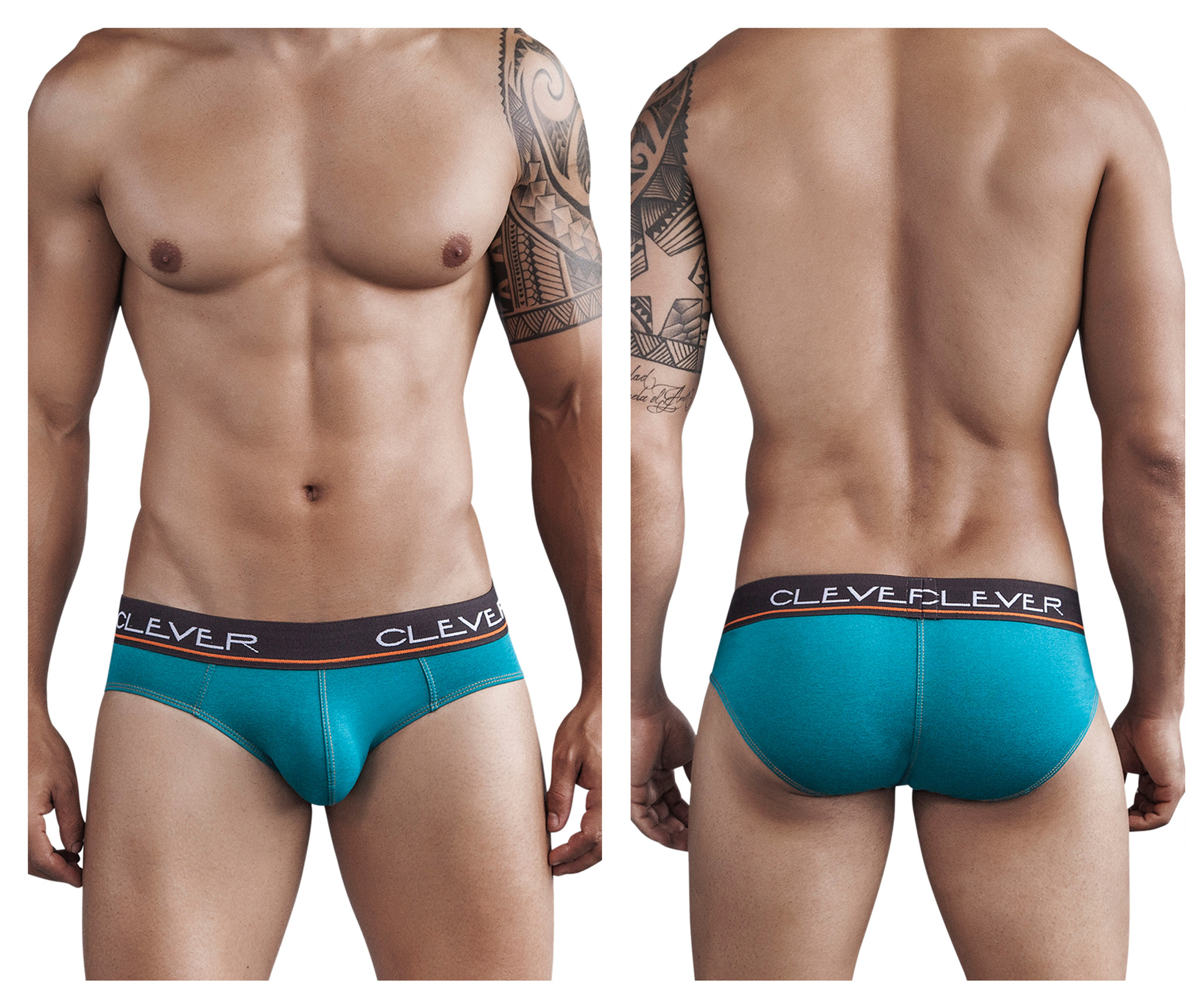 Safari Latin Brief Green