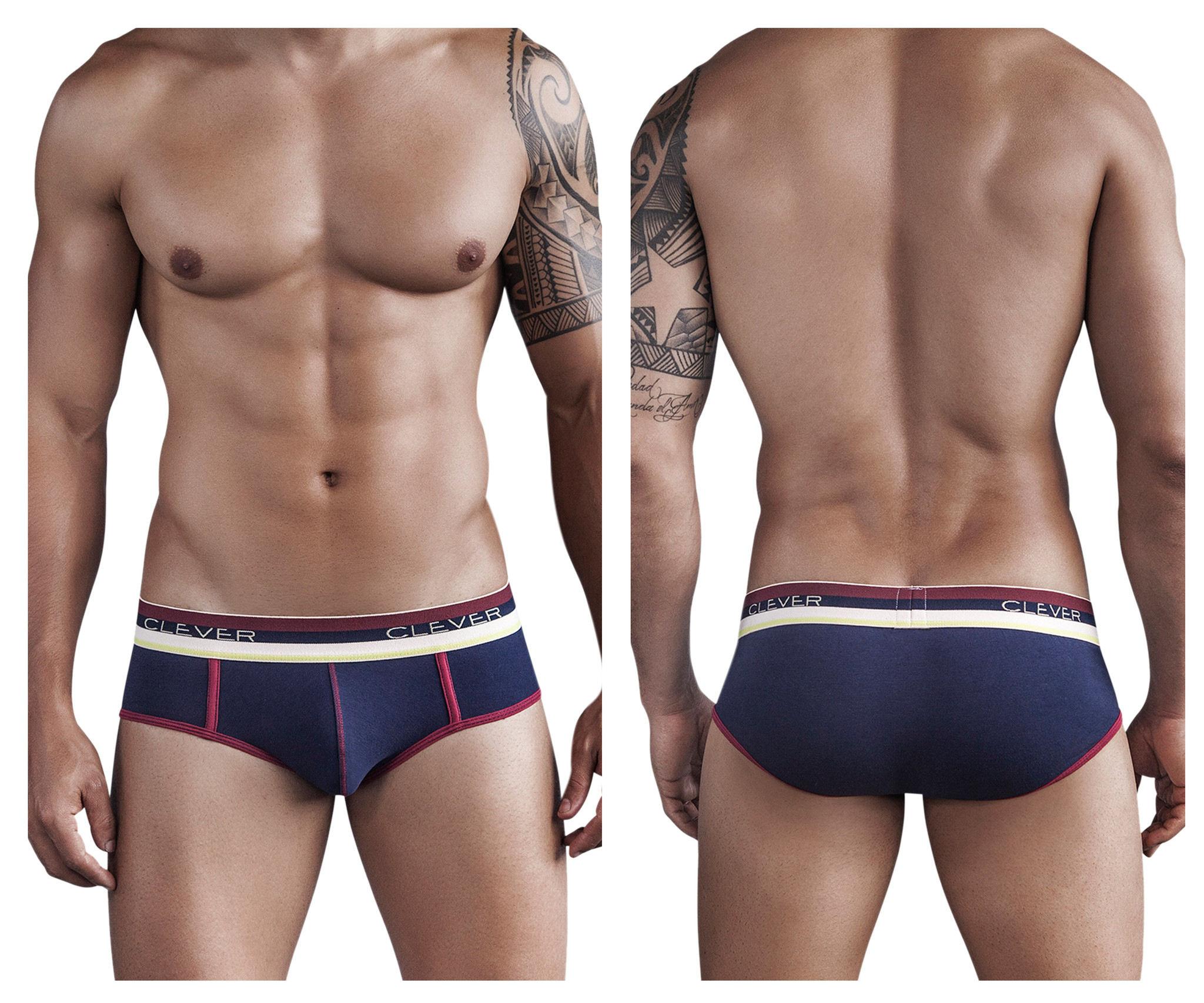 Kawa Bonga Piping Brief Blue