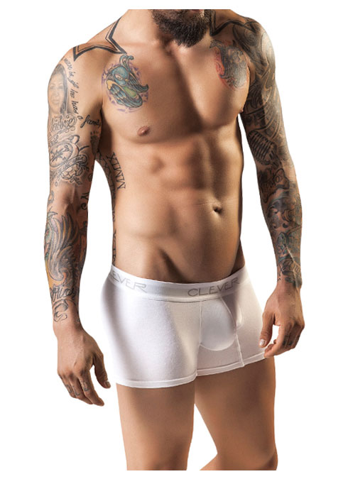 Basic Boxer White Clever