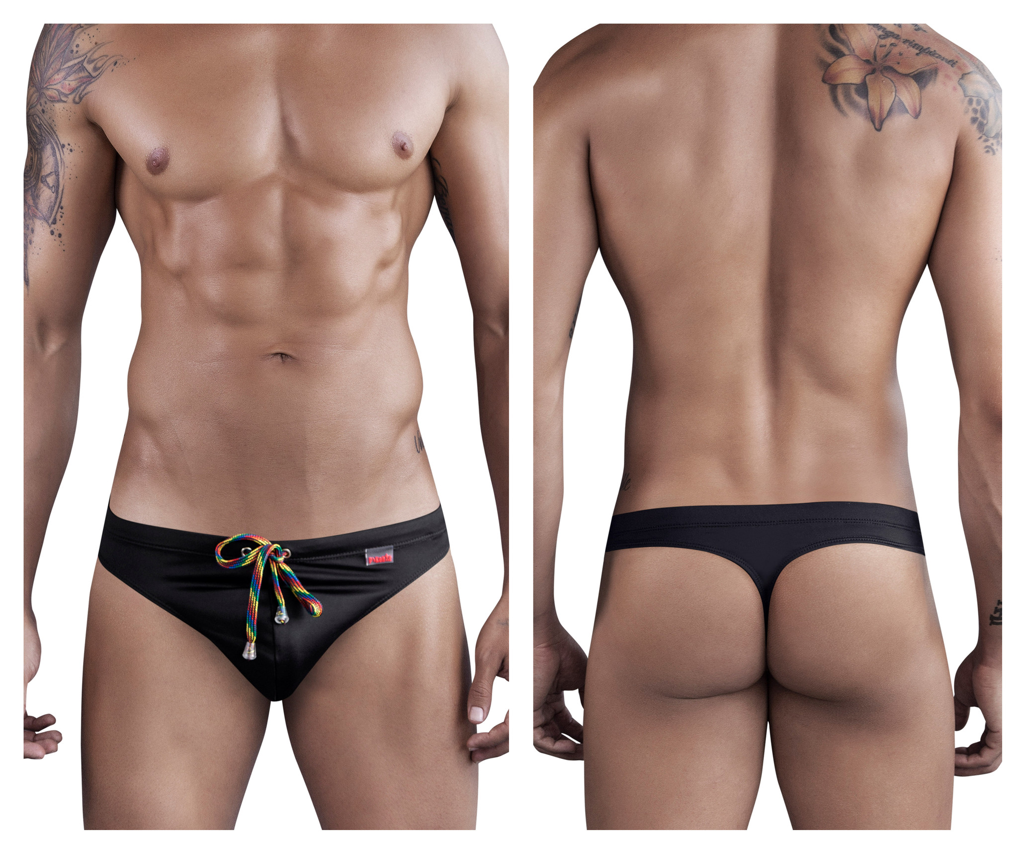 Rockola Swim Thong Black