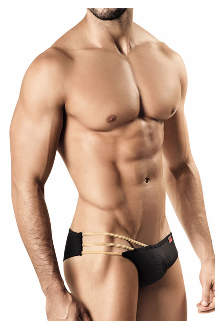 Agatha Strappy Brief Black