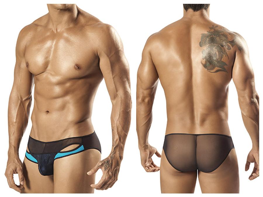 1553 Tropos Sheer Bikini Brief Turquoise