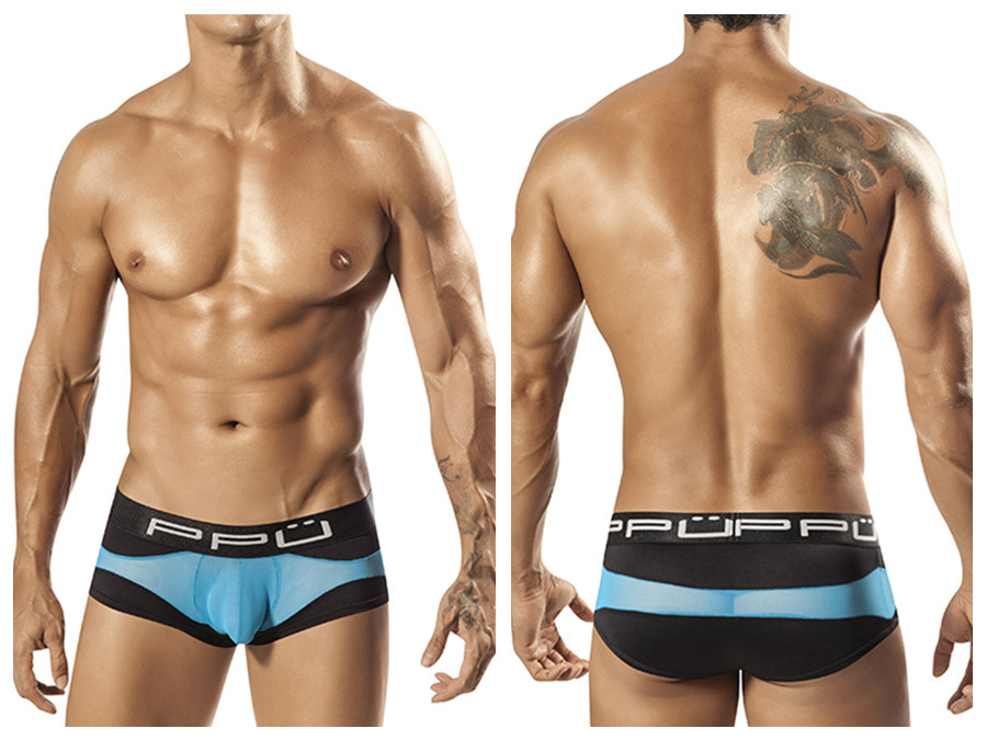 1555 Wave Brief Black Blue