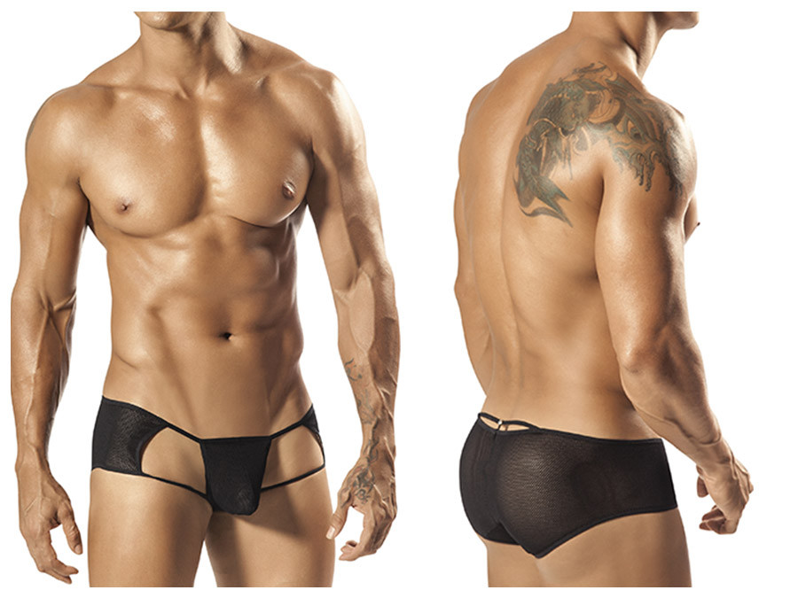 1558 Conan Sheer Brief Black