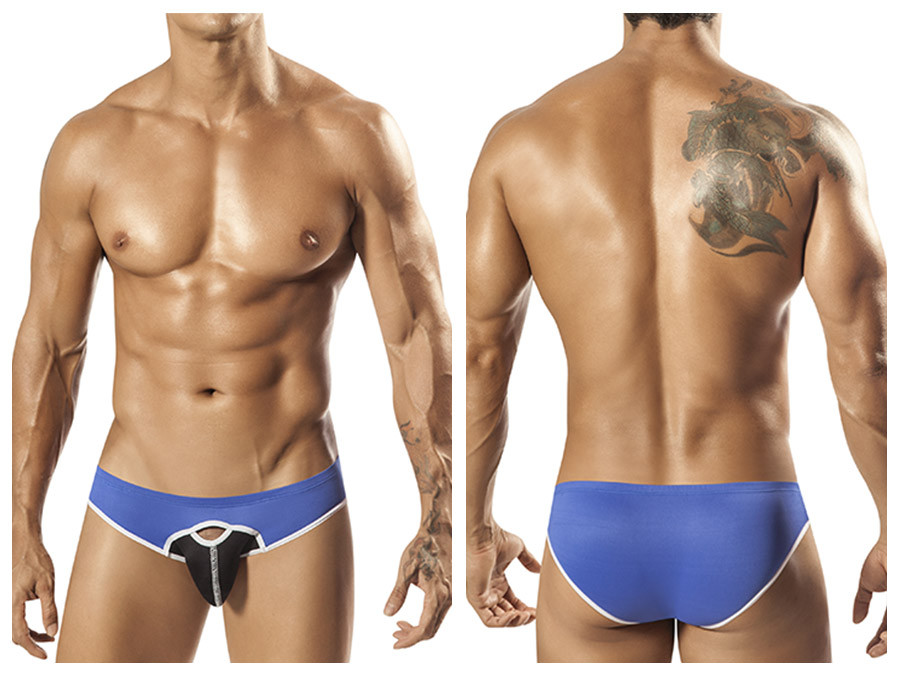 1560 Durden Bikini Brief Blue