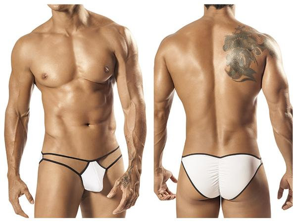 1563 Crave Bikini Brief White