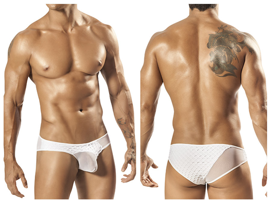 1568 Carson Sheer Brief White