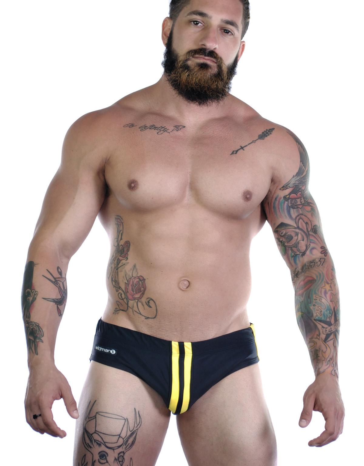 Sportivo Bikini Black & Yellow