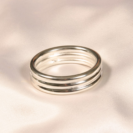 Sterling Silver Penis Ring
