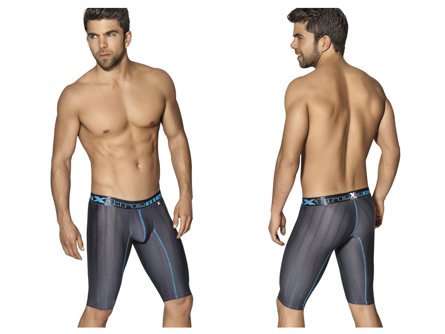 Xtremen Long Performance Boxer Gray