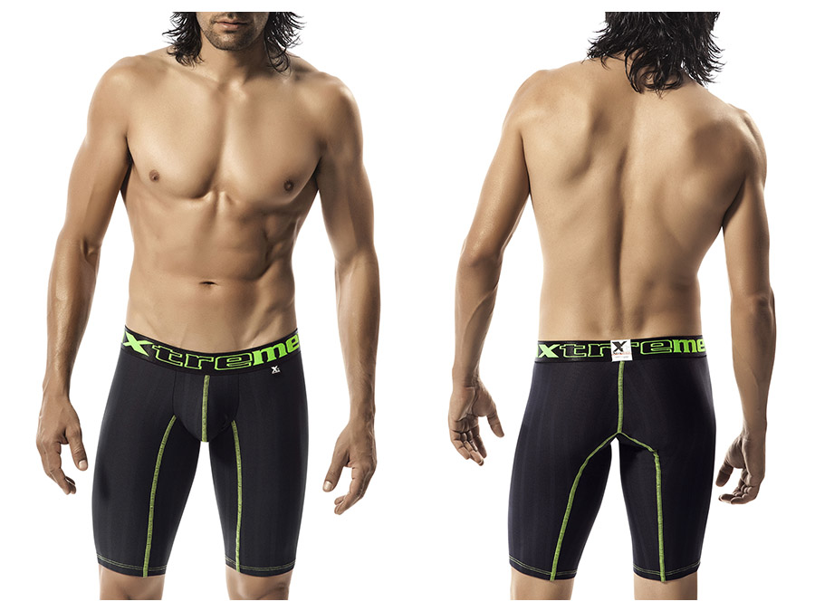 Xtremen Long Performance Boxer Black